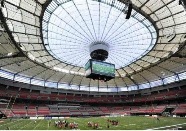 BC Place Stadium Retractable Roof